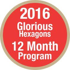 Glorious Hexagons Quilt Along
