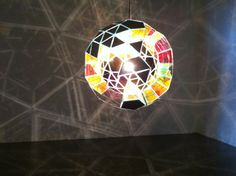 Red Emotional Globe by Olafur Eliasson (2010)