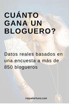 cuánto gana un bloguero