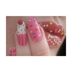fuckyeahnails ❤ liked on Polyvore featuring beauty products, nail care, nails, pictures, backgrounds and photo