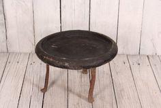 Antique crock - Vintage clay pot - Primitive loaf pan - Pizza pan - Pizza baking - Primitive rustic crock - Vintage pancake baking