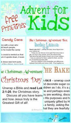 kid friendly advent free printables, The Christmas Adventure Box, family advent activity, homeschool, church, AWANA, youth group, easy advent, flexible advent, advent fun