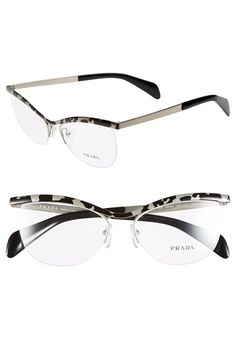 e2eeba85a75 Free shipping and returns on Prada 54mm Optical Glasses (Online Only) at  Nordstrom.