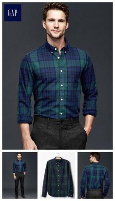 Blackwatch oxford shirt