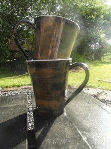 Kaffemuggar Beer, Pottery, Ceramics, Mugs, Tableware, Diy, Design, Projects, Ceramica
