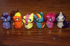 My Little Pony FiM Clay Chibi Charm Pendant by lyricalstarz, $30.00