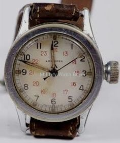 WWII Longines Paratrooper Watch.  Sweet.