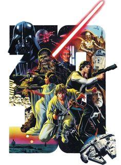 Star Wars - 30 years by Felipe Massafera