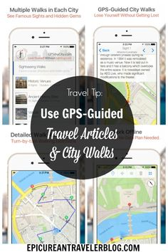 Travel Tip: With GPSmyCity's GPS-guided travel articles and city walks downloaded to your mobile device, you can wander a city without actually getting lost. You'll find thousands of travel articles for hundreds of cities around the world. Upgrade the article with an in-app purchase to access a map that pinpoints attractions and restaurants mentioned in the article plus GPS-navigated routes between these points of interest. Find out more at EpicureanTravelerBlog.com.