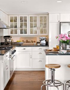 I was thinking I liked the soapstone counters but I'm not sure now. Plus they are expensive.