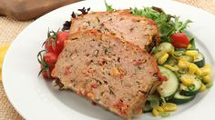 Sun-Dried Tomato Meat Loaf - Recipes - Best Recipes Ever - A classic favourite gets updated with shiitake mushrooms and sun-dried tomatoes. Leftovers make great sandwiches. Meatloaf Recipes, Meat Recipes, Cooking Recipes, Healthy Recipes, Dinner Recipes, Canadian Living Recipes, Canadian Food, Healthy Foods To Eat, Party