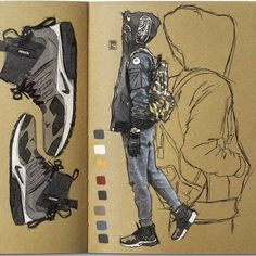 Character Drawing, Character Concept, Concept Art, Copic Drawings, Art Drawings, Cyberpunk Art, Dope Art, Character Design Inspiration, Graphic Illustration