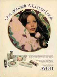 Browse the latest AVON promotions to discover top-quality beauty and fashion products at sale prices. Shop for up to off selected Avon makeup and jewelry. Vintage Makeup Ads, Retro Makeup, Vintage Beauty, Vintage Fashion, 70s Makeup, Vintage Vanity, 1960s Fashion, Beauty Makeup, Old Advertisements
