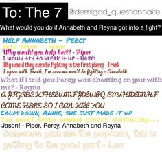 Instagram photo by @demigod_questionnaire (*~Ask* ^the^ *7~*) | Statigram