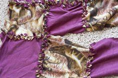 T-Shirt Fleece Blanket | ... likelacee- admired fleece maxi cosi opal , hand tied fleece blanket