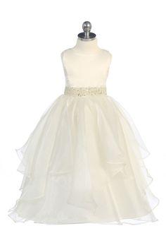 NEW Mae Li Rose Mauve Mocha /& Ivory Lace Girls Dress 3T 4//5 Top Seller