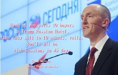 Trump's Advisor Carter Page Threatens McCain. Move along nothing to see here.  Trump's Advisor Carter Page Threatens McCain. Move along nothing to see here. A fun meme of Carter Page. But the photo is real: him in Russia recently. Jis' doing his USA Putin Russia Intermediary Thang:  There is still no one outside of the Donald Trump campaign who knows for sure who Carter Page is or why he was given a key foreign policy role in the campaign despite being a nobody with no qualifications. He…