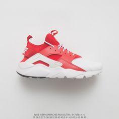 7899ec40a7296 Nike Air Huarache Run Ultra Textile Four Seasons All-Match Jogging Shoes  Breathing Net Bred White