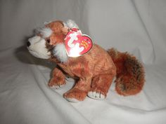 28385a073bb Original TY Beanie Babies Rusty the Red Panda w tags Retired  Ty Beanie  Buddies