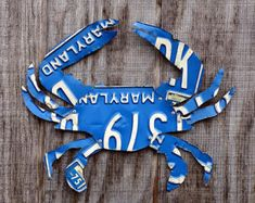 Upcycled Kentucky License Plate Chicken Rooster by LicenseToCraft