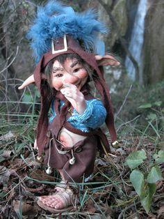 That's different Porcelain Gnome Doll, Porcelain
