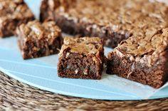 Gooey Coconut Chocolate Bars | Mel's Kitchen Cafe