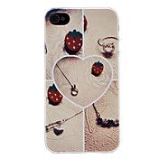 Heart Pattern Hard Case for iPhone 4/4S – EUR € 2.75
