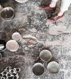 Cool & creative shot! Handmade ceramics