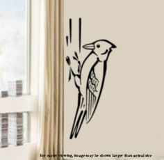 Woodpecker Birds Vinyl Wall Art Graphics Decal by InfinityDecals, $35.00