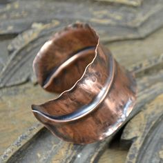 Copper Fold Formed Bracelet | Flickr - Photo Sharing!