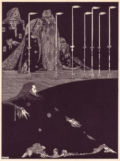 Harry Clarke | 1919 | Illustrations for Edgar Allan Poe's Tales of Mystery and Imagination