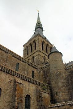 The Abbey at Mont Saint Michel