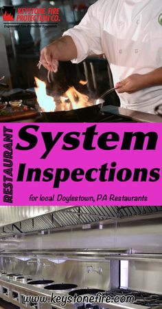 Restaurant System Inspections Doylestown (215) 641-0100.. Local Pennsylvania Restaurants you have found the complete source for Fire Protection. Fire Extinguishers, Restaurant System Service.. We're got you covered..