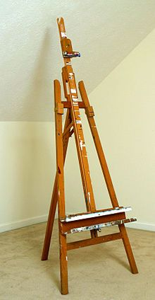 Easel (the one my great grandfather made is WAY cooler though).
