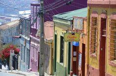 Tutti i colori di #valparaiso in #cile.
