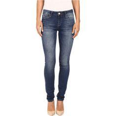 3717453-p-2x Best Deal Mavi Jeans  Adriana MidRise Super Skinny in Double Black Tribeca (Double Black Tribeca) Women's Jeans