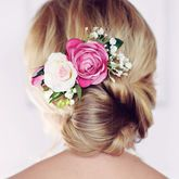 Florence Rose Hair Comb