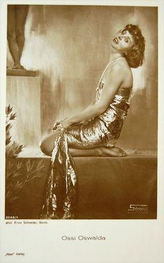 Ossi Oswalda, German Silent actress