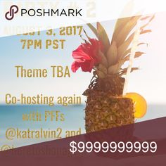 Come and party with us! I am so excited to be co-hosting again!  Please tag Posh Compliant closets for me to consider for host picks.  Especially newer or closets with no HPS.  🌺Mahalo!🌺 Other