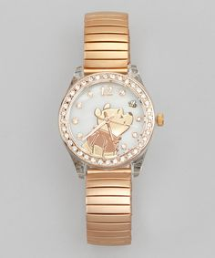 Rose Gold Winnie the Pooh Expansion Watch | zulily
