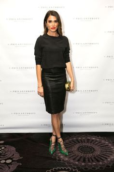 Nikki Reed supporting PHILANTHROPY at The Noble Awards