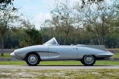 This gorgeous 1957 Fiat-Stanguellini 1200 Spider America designed by Franco Scaglione was recently sold at a Sotheby