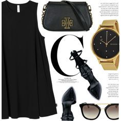 How To Wear Lady In Black Outfit Idea 2017 - Fashion Trends Ready To Wear For Plus Size, Curvy Women Over 20, 30, 40, 50