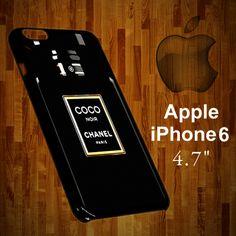 B-1103 chanel coco noir Bottle Iphone 6 Case