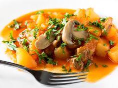 Mancarica de cartofi cu ciuperci de post - BucateleNoastre.ro