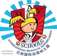 Shanghai Bay Schools logo. Concept by Ronald Paredes