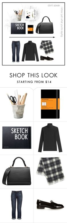 """""""hush, hush darling"""" by j9ensemble ❤ liked on Polyvore featuring ESSEY, Moleskine, Design Letters, MaxMara and Weekend Max Mara"""