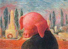 René Magritte - la bonne fortune, 1945