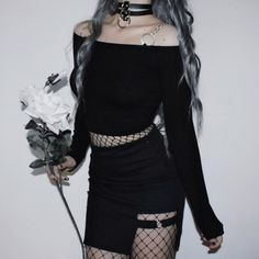 Clothes for teens emo style ideas Kpop Outfits, Edgy Outfits, Korean Outfits, Grunge Outfits, Outfits For Teens, Dress Outfits, Cute Outfits, Fashion Outfits, Dark Fashion