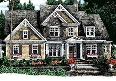 Graves Springs - Frank Betz Associates, Inc.   Southern Living House Plans - like the outside look